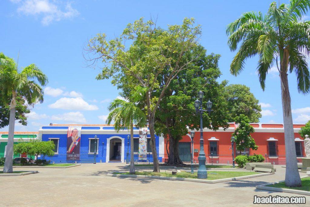 Ciudad Bolivar in Venezuela