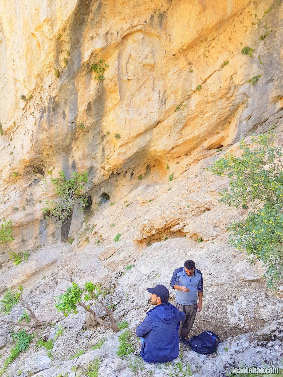 Visit Darband-i-Gawir rock-relief in Iraqi Kurdistan