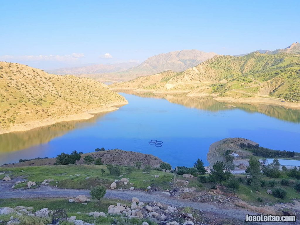 Darbandikhan Lake in Iraqi Kurdistan