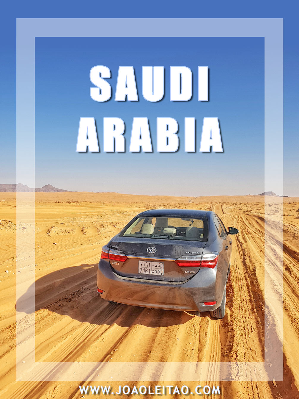 Driving in Saudi Arabia