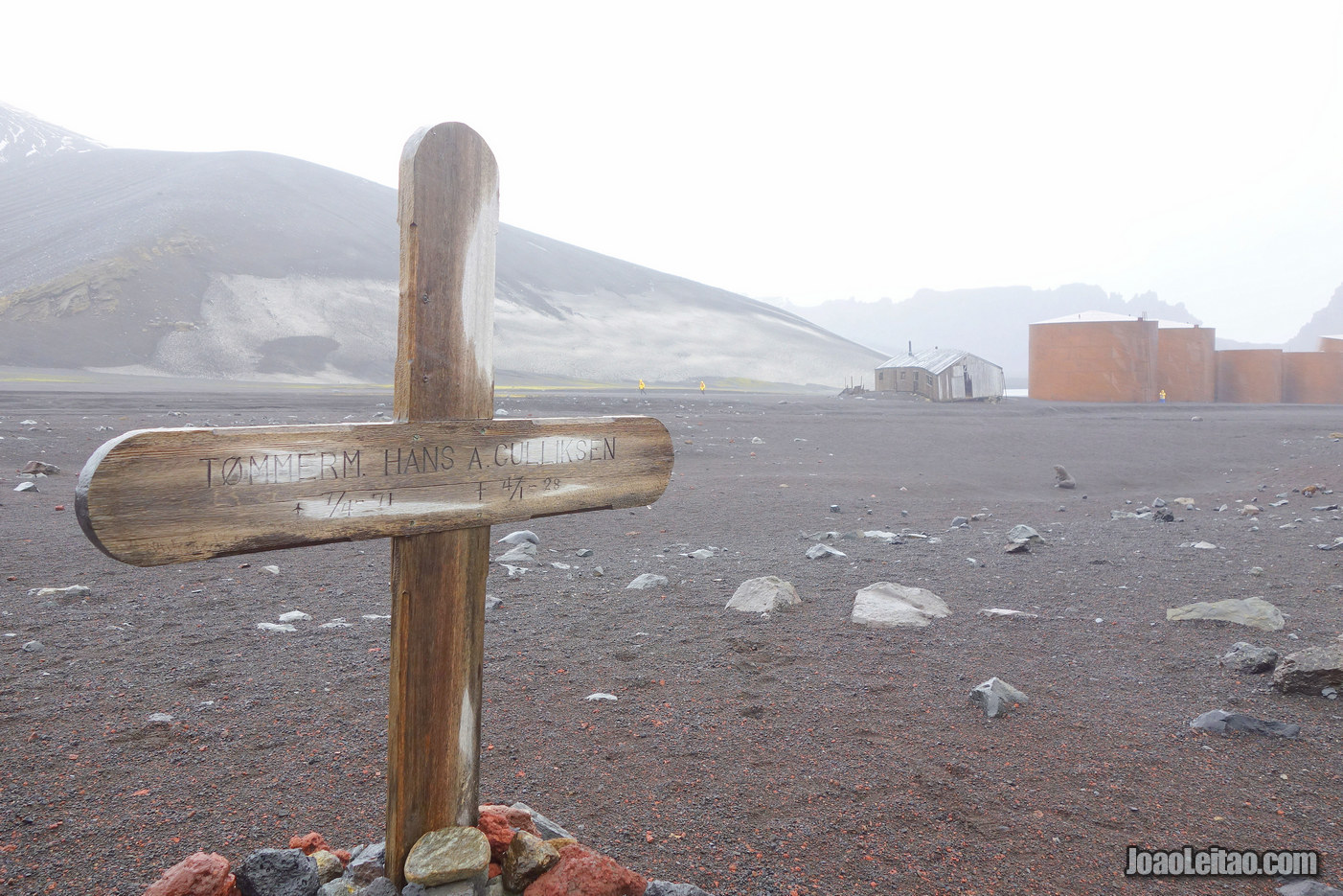Visit Deception Island in Antarctica