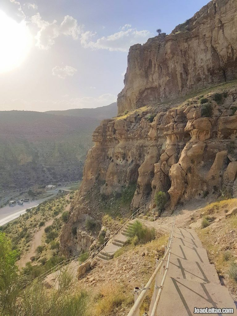 Dokhtar Castle in Iran