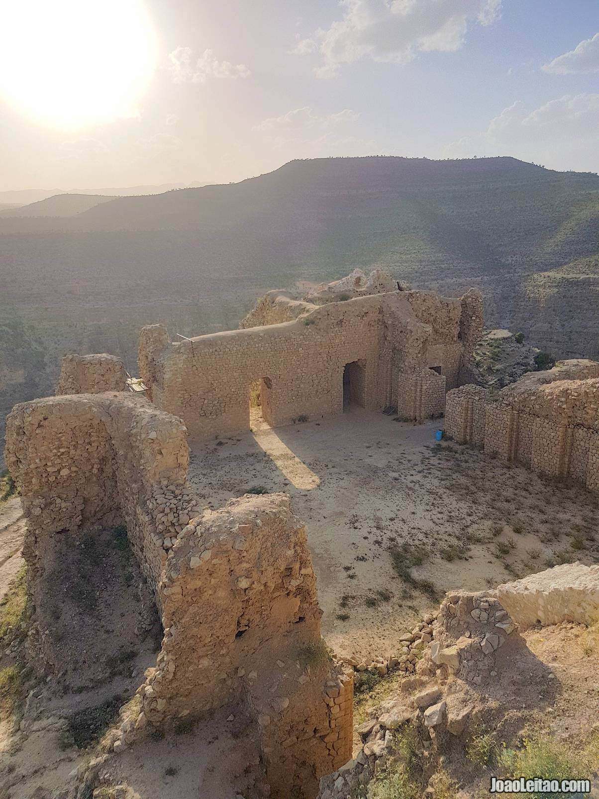 Visit Dokhtar Castle in Fars Province