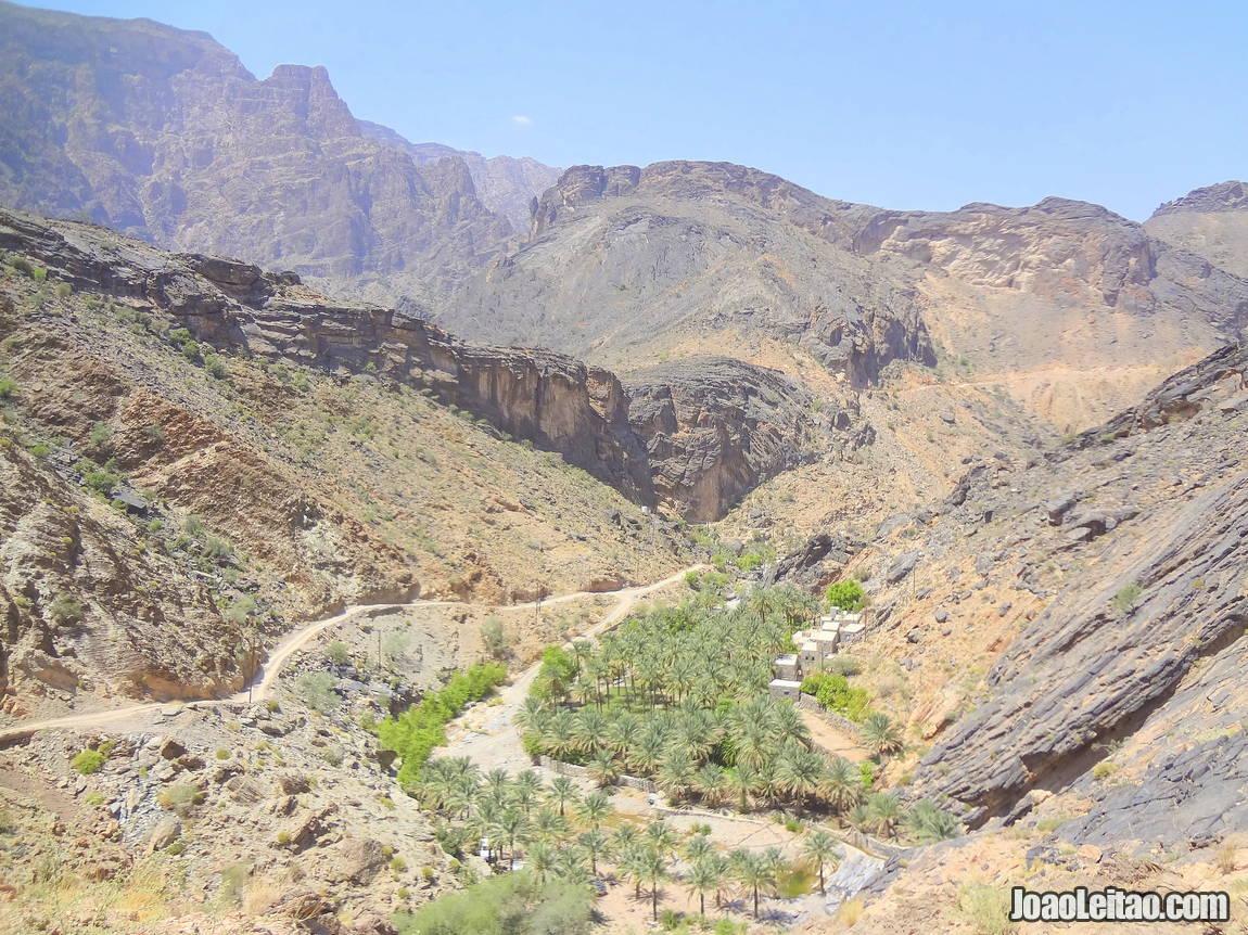 Visit Jebel Akhdar in Oman