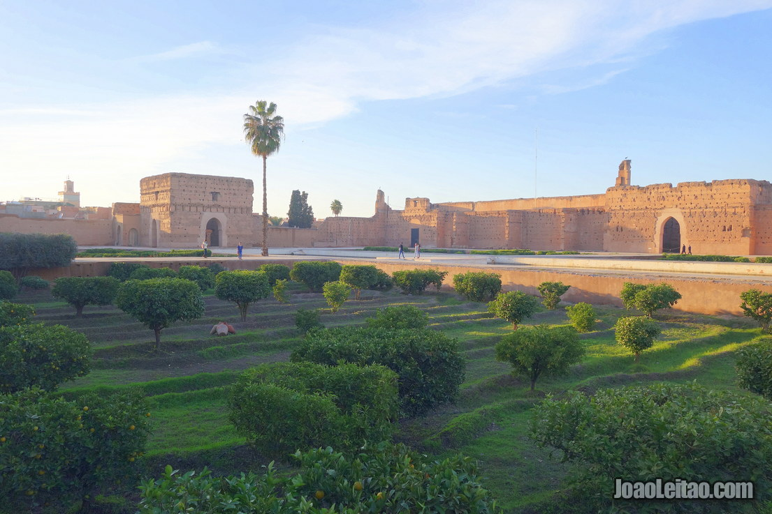 El Badi Palace in Marrakesh