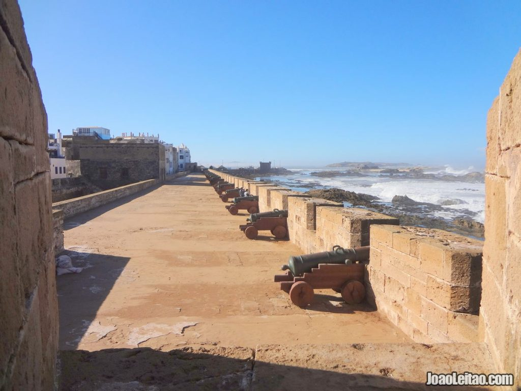 Essaouira medina ramparts