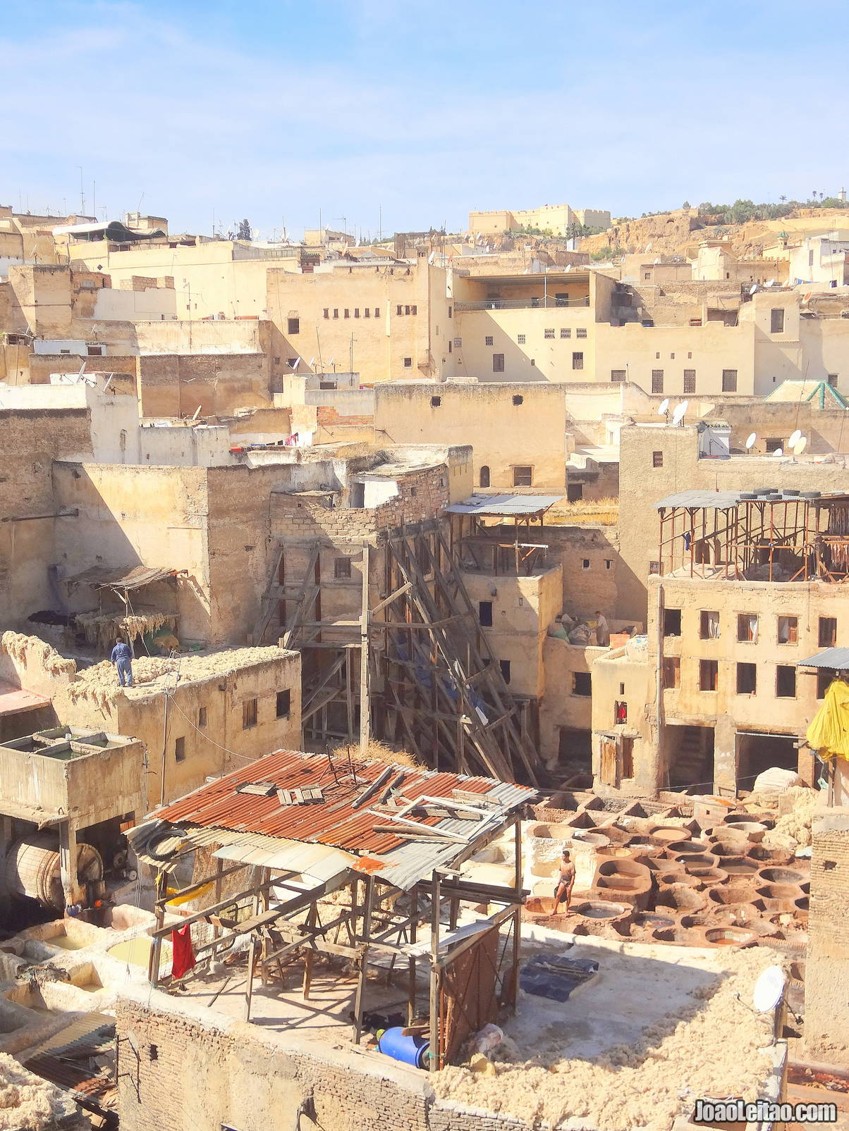 The Fez Tanneries