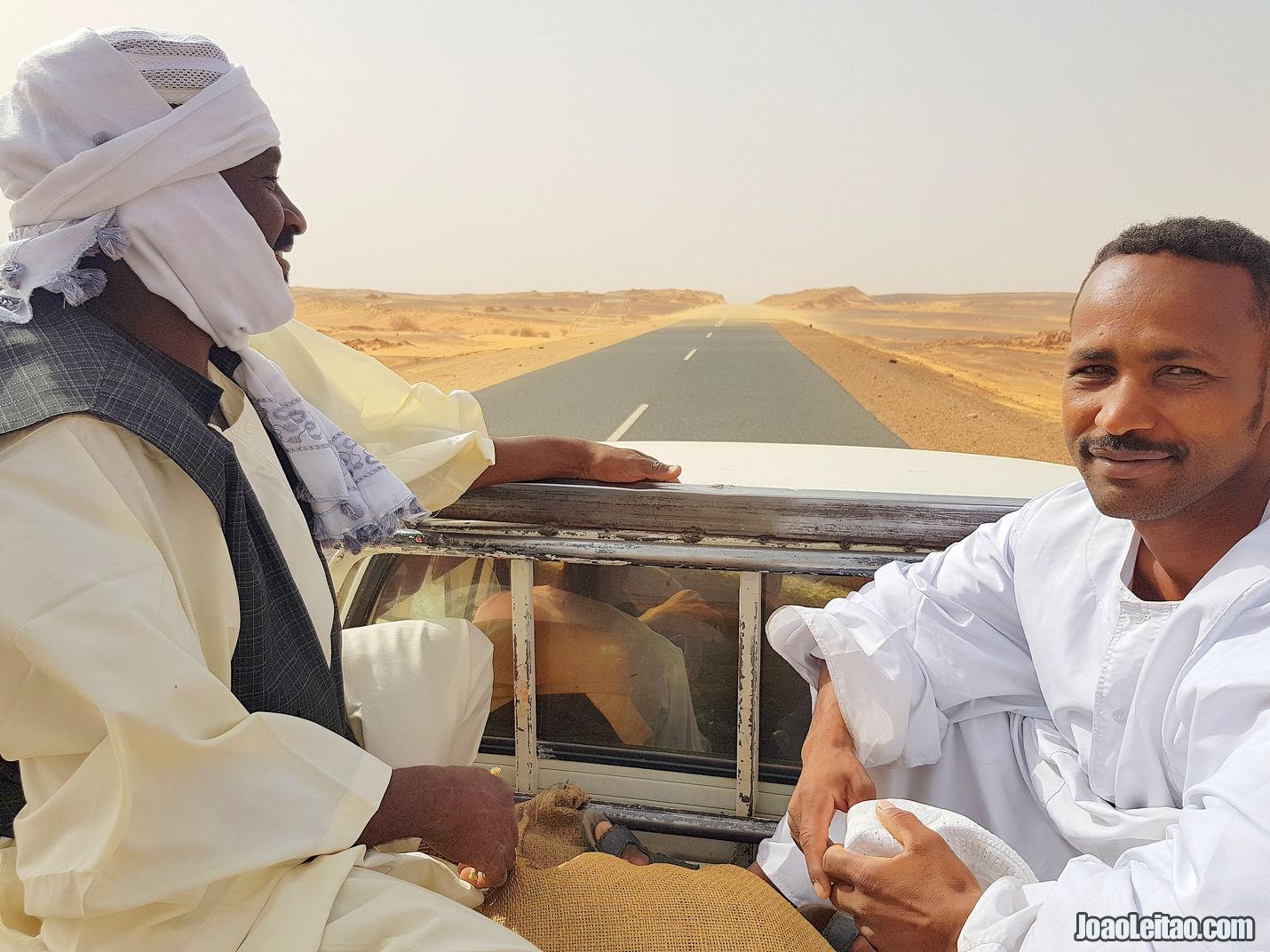 HITCHHIKING IN SUDAN