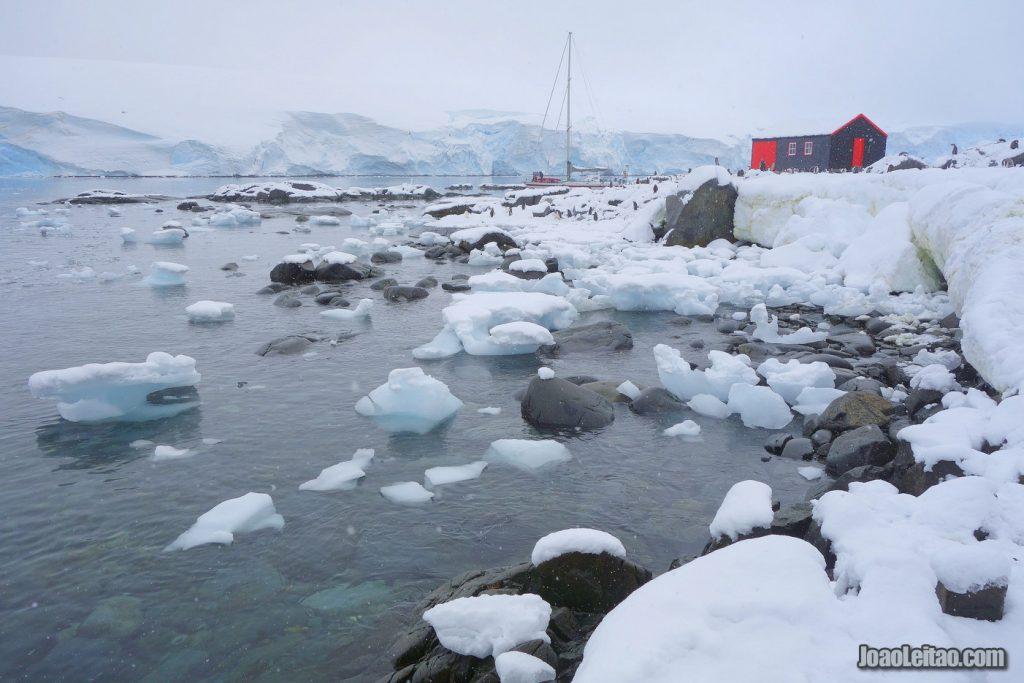 Visit Goudier Island in Antarctica