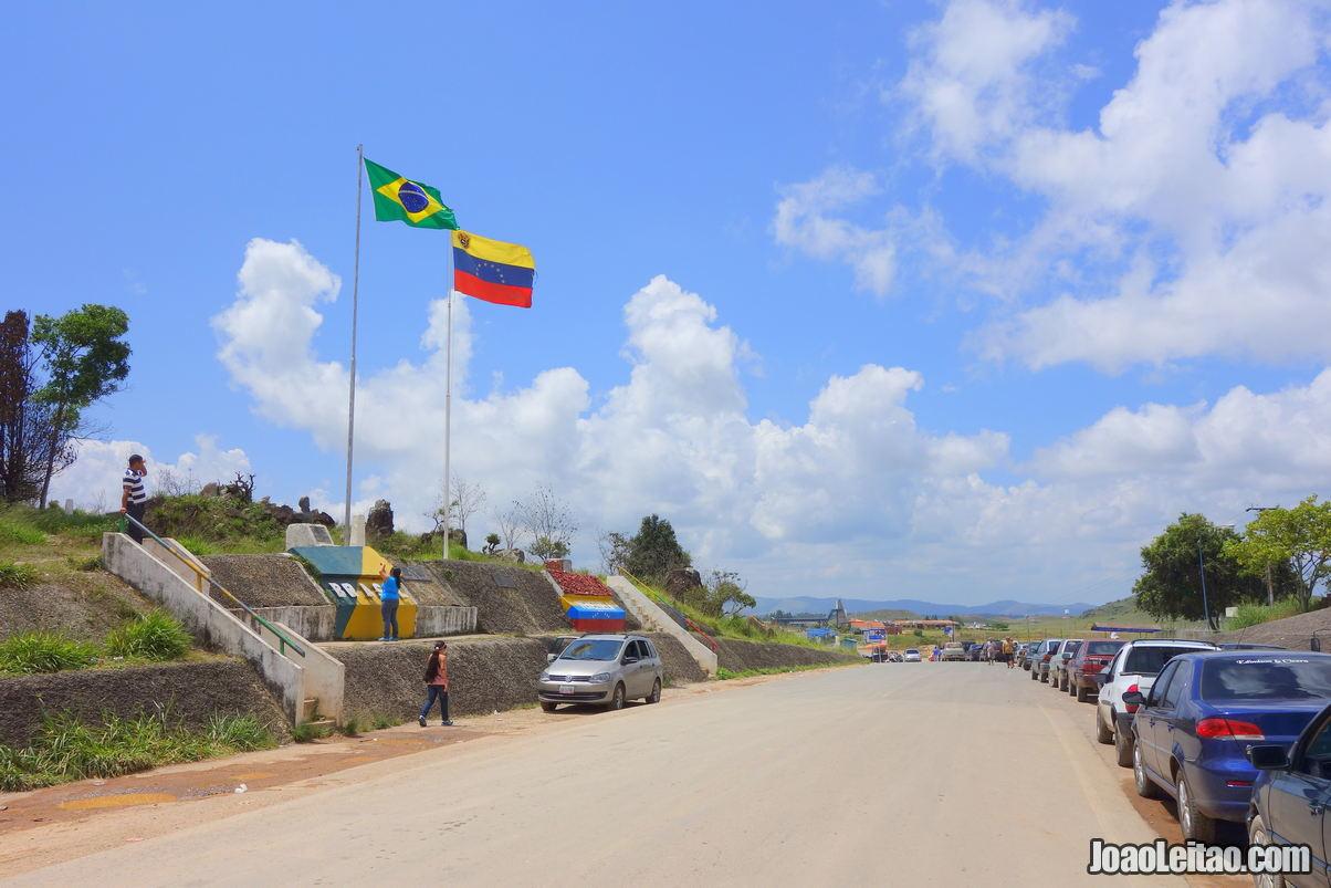 How to cross the Brazil Venezuela Border