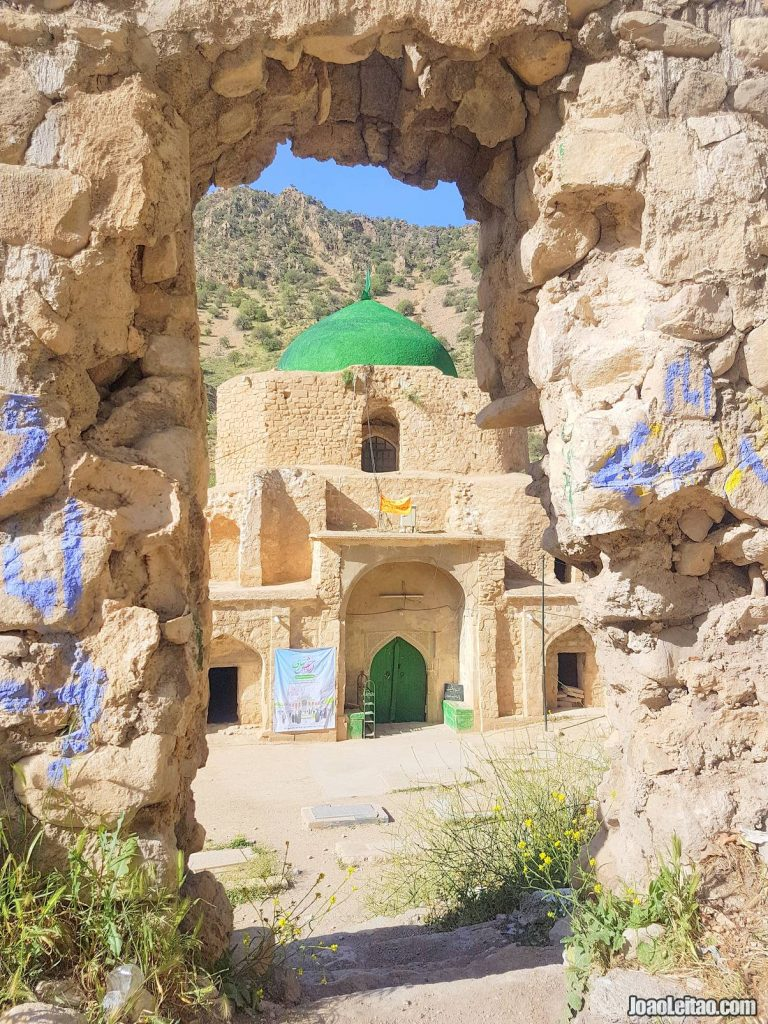 Visit Imam Zade Shrine in Fars Province