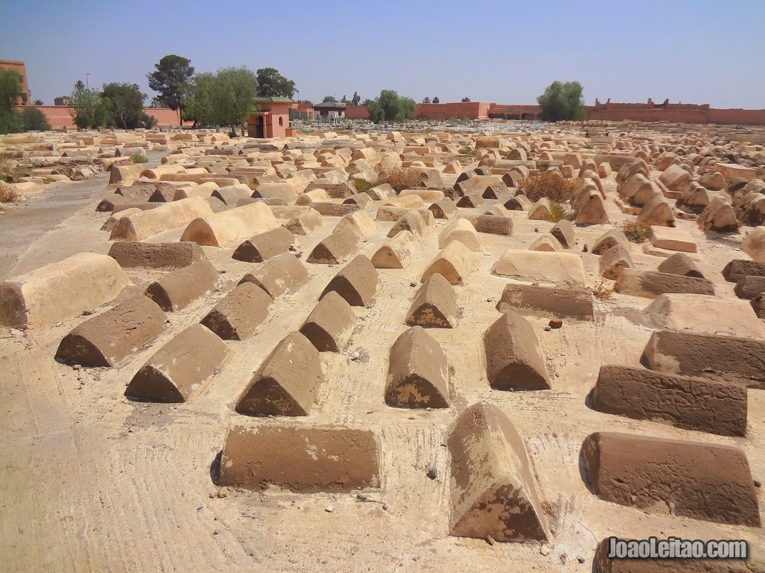 Jewish Cemetery in Marrakesh