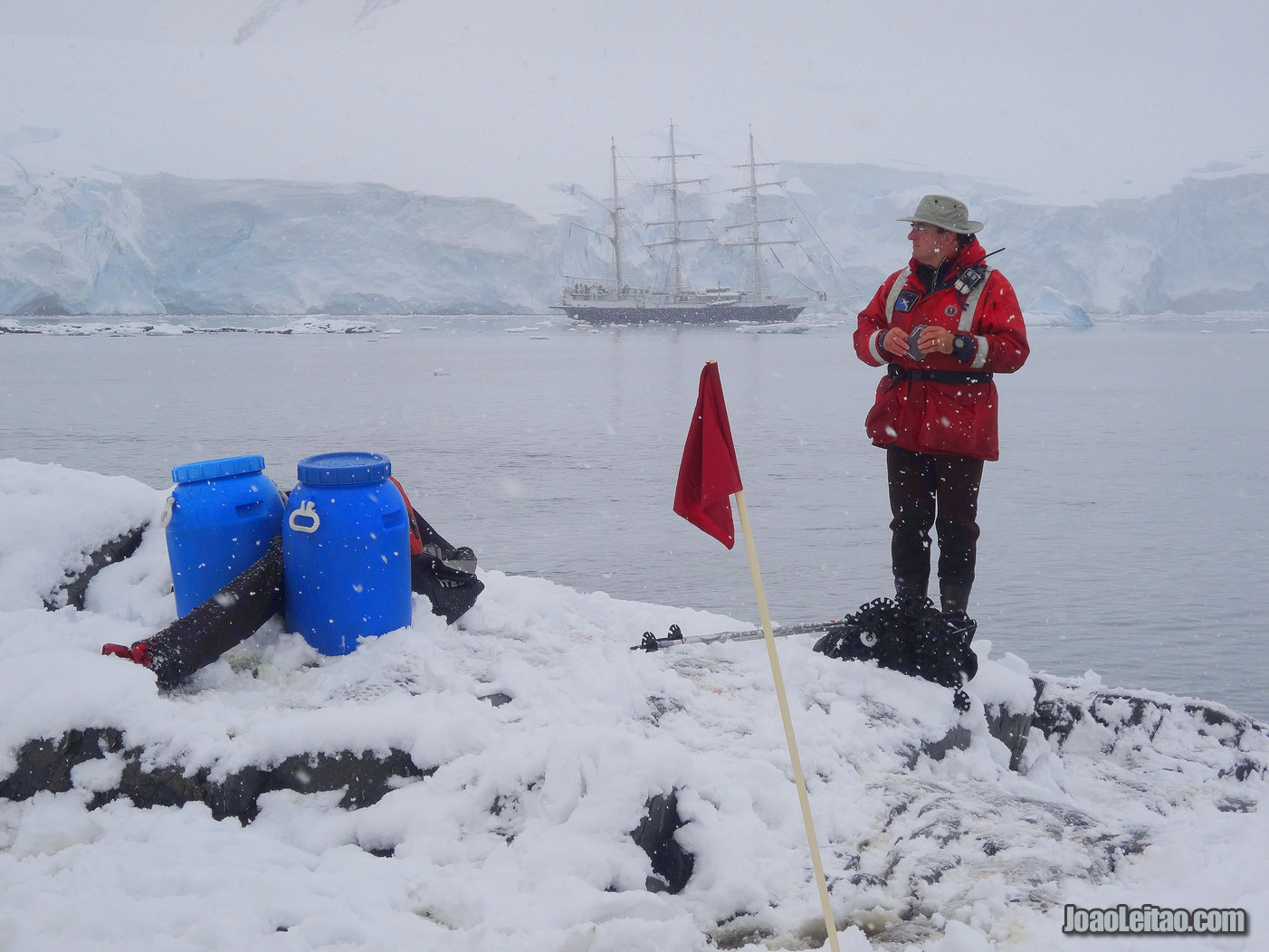 Visit Jougla Point in Antarctica
