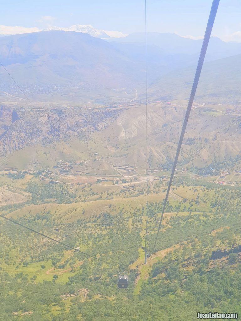 Korek Cable Car in Iraqi Kurdistan