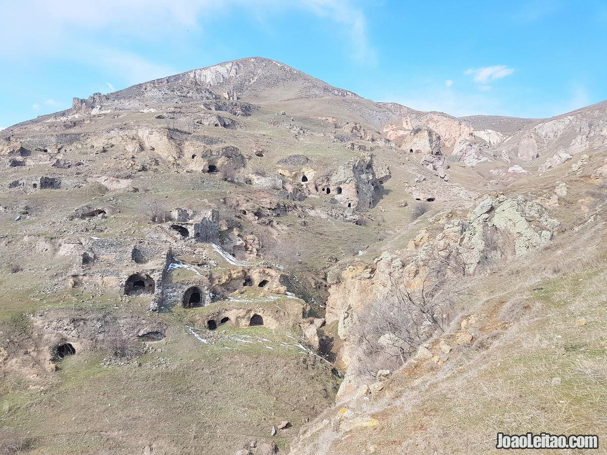 Khnatsakh Cave Village Armenia