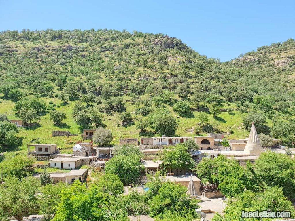 Lalish in Iraqi Kurdistan