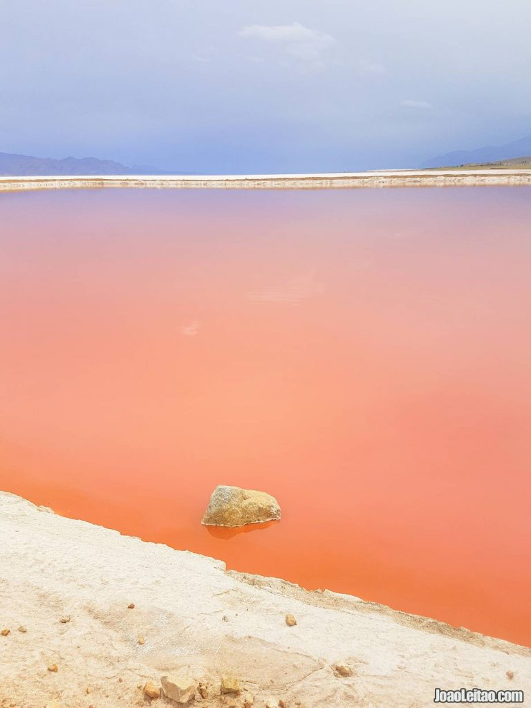 Visit Maharloo Pink Lake in Iran