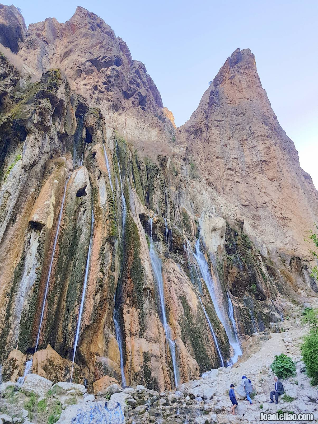 Visit Margoon Waterfall in Iran