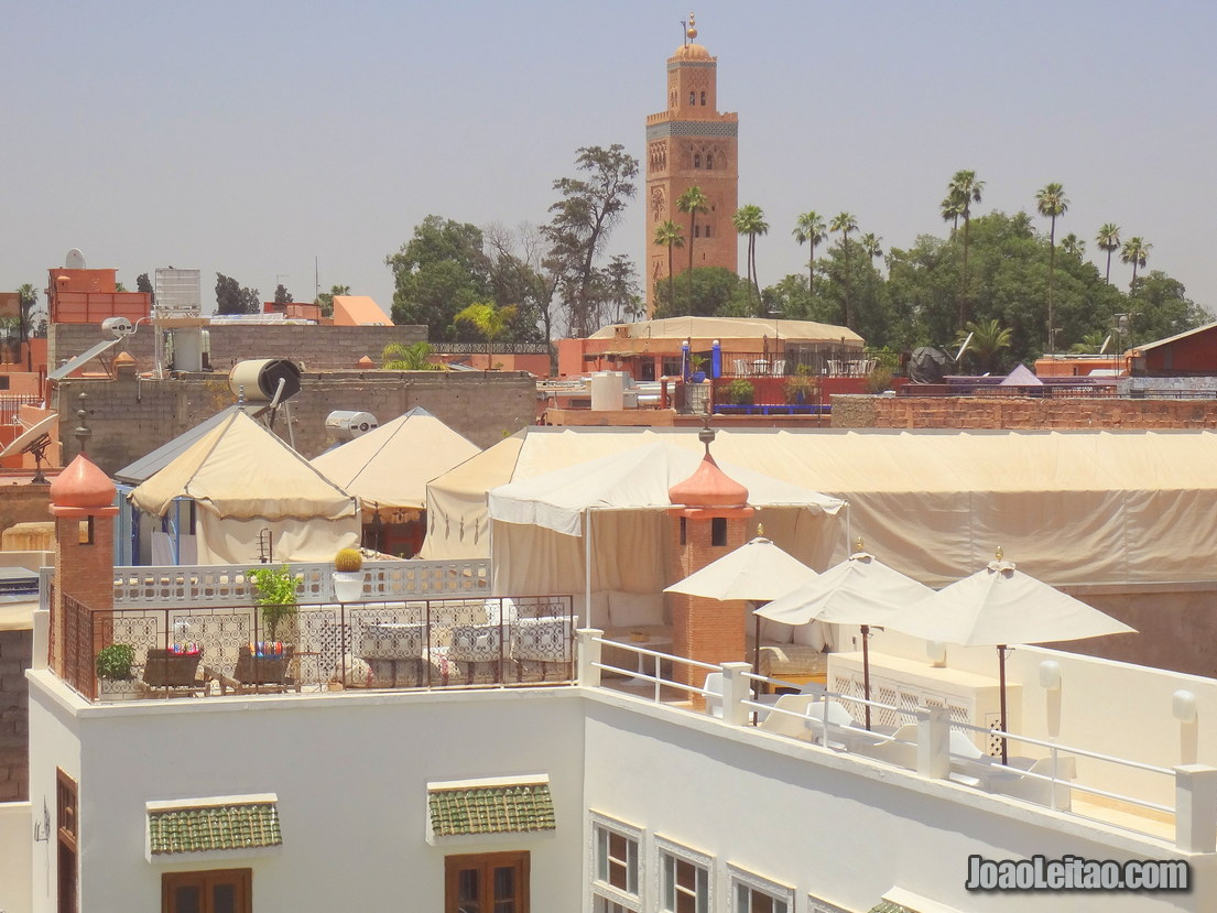 Marrakesh Skyline