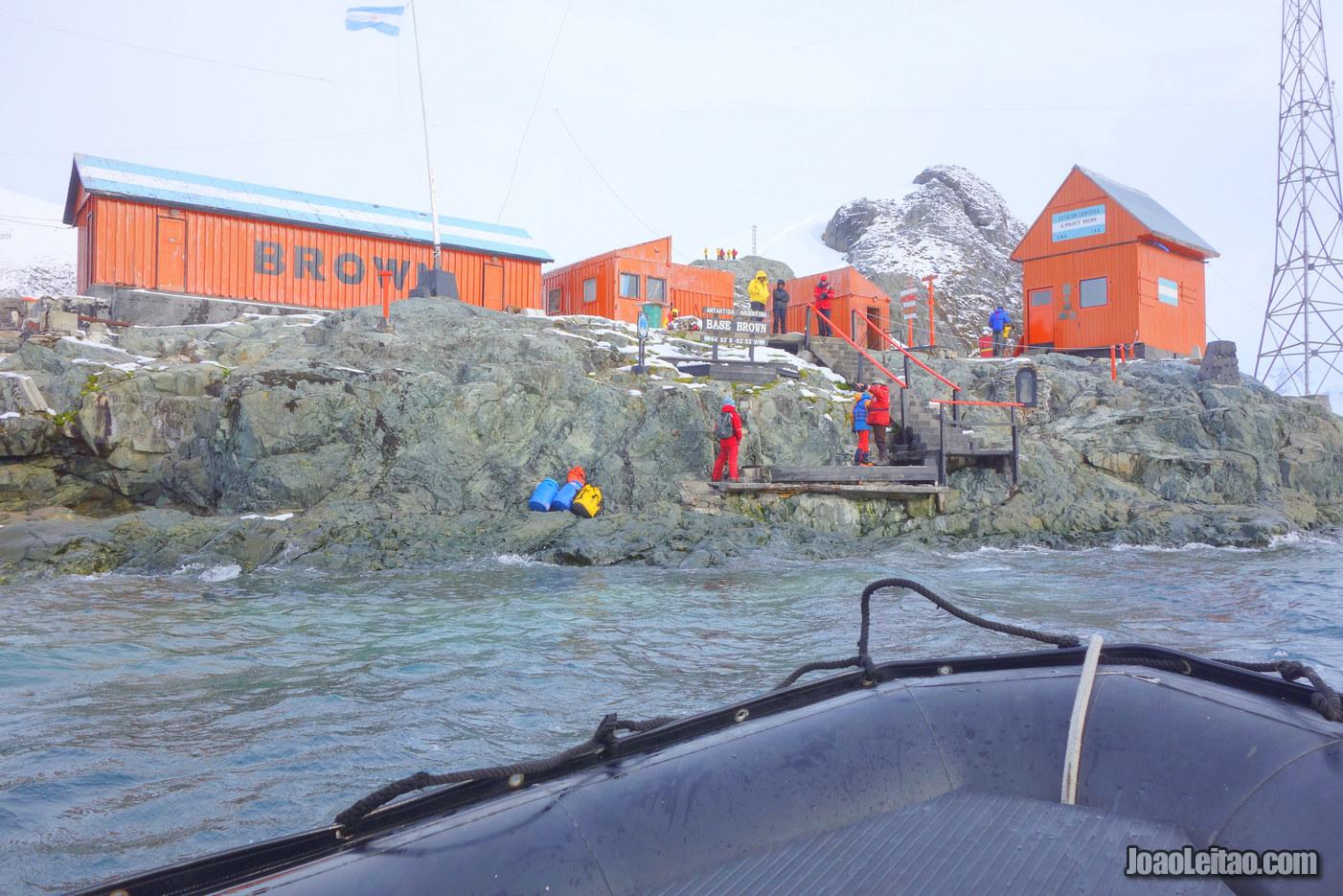 Paradise Harbour in Antarctica