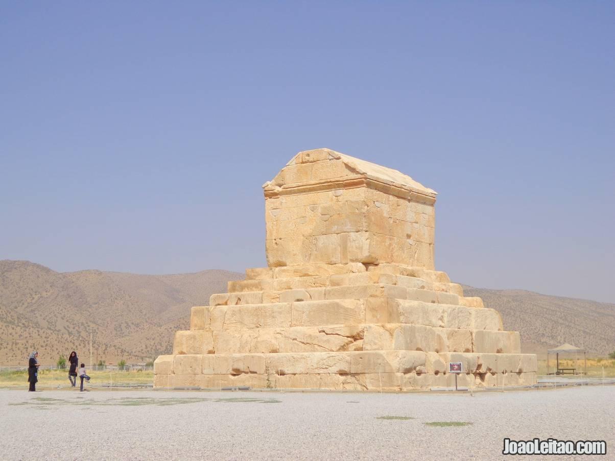 Visit Pasargadae in Iran