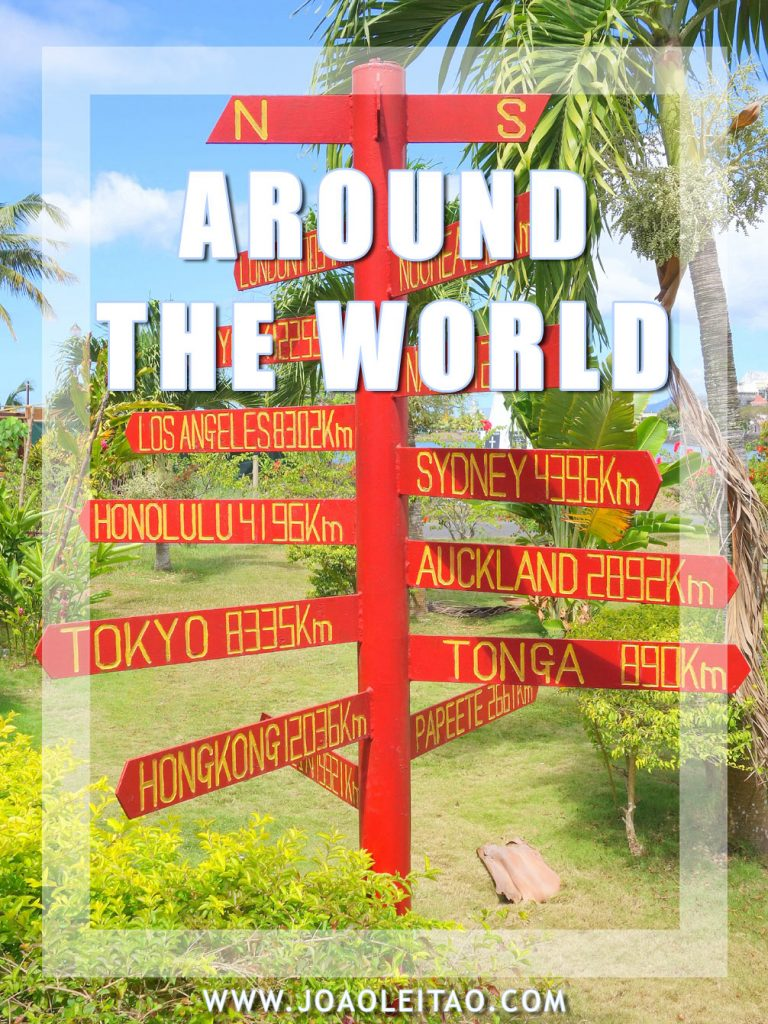 Round the world trip (RTW) – The ultimate guide (2019 Edition)