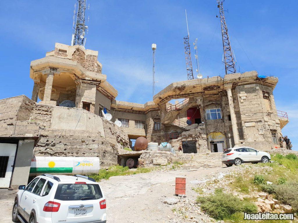 Saddam Hussein Palace in Iraqi Kurdistan