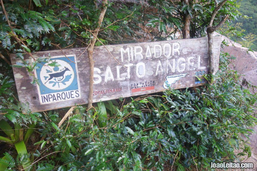 Salto Angel in Venezuela