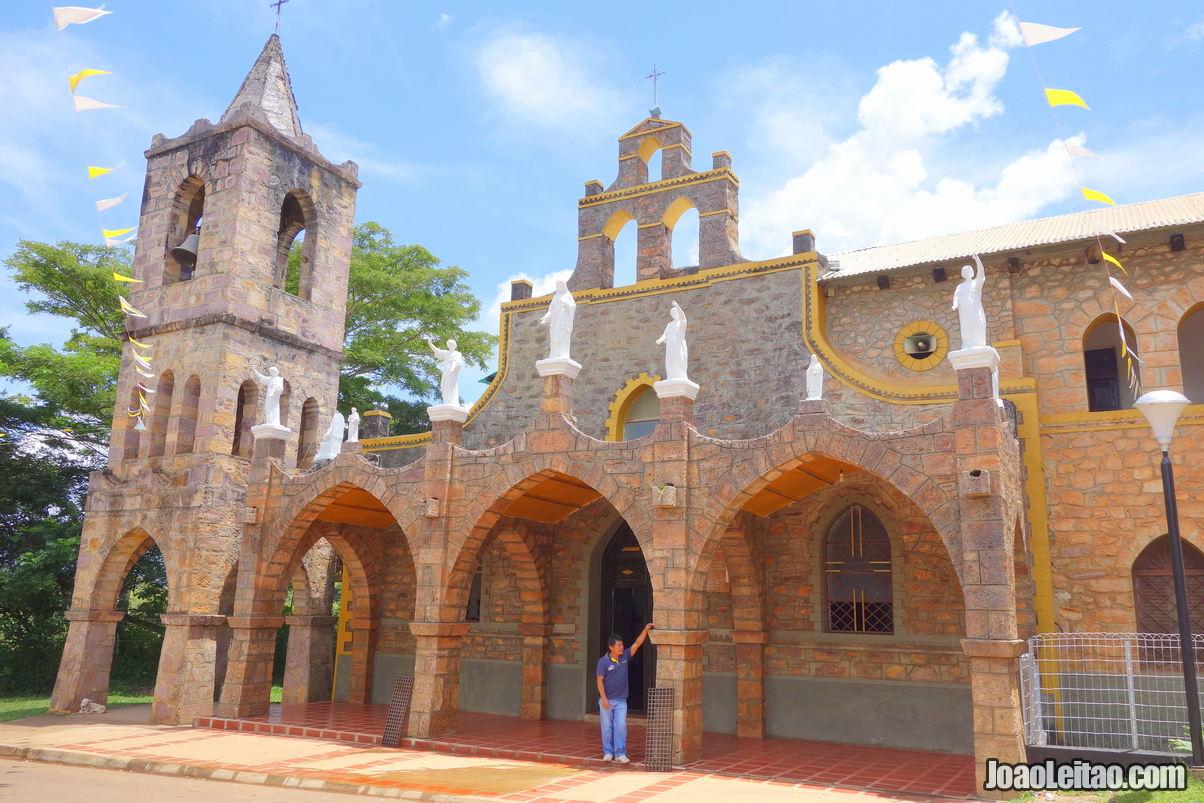 Santa Elena de Uairen in Venezuela