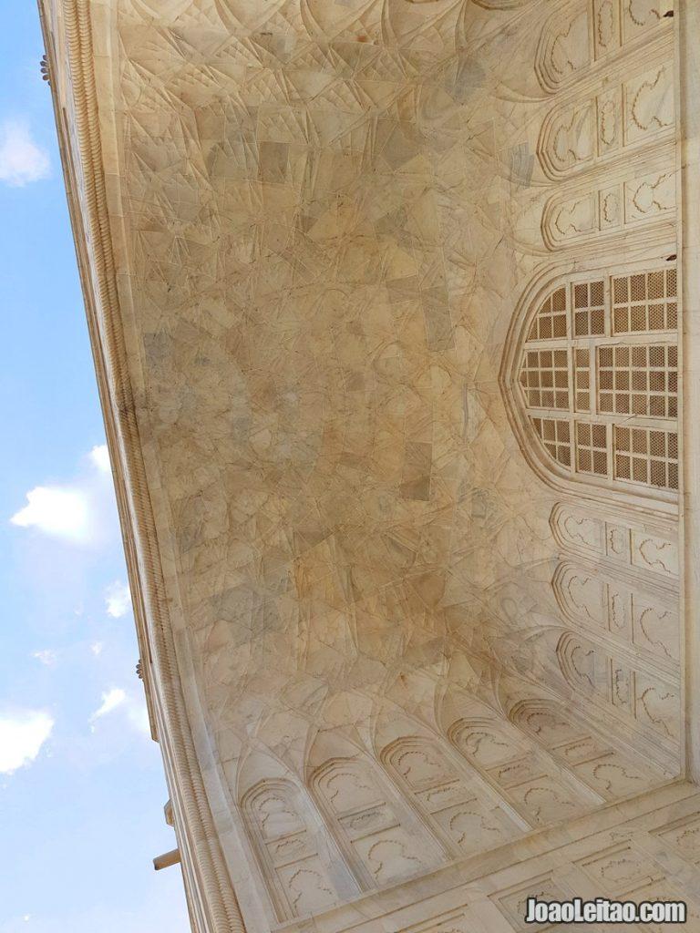 Decoration of the Taj Mahal