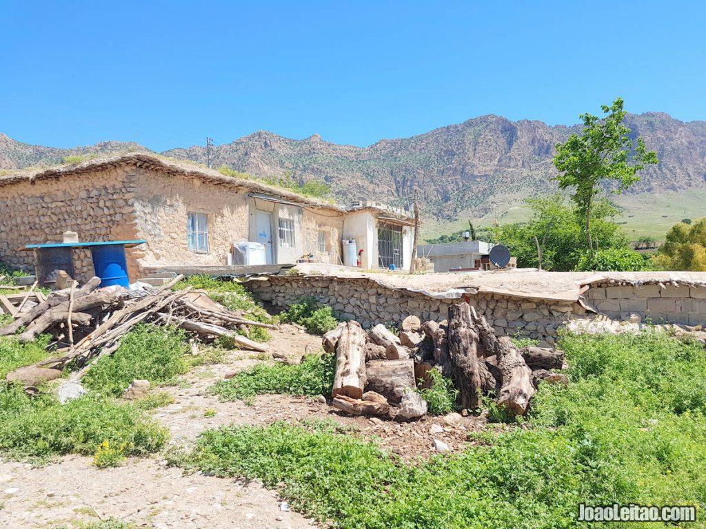 Timar village in Iraqi Kurdistan