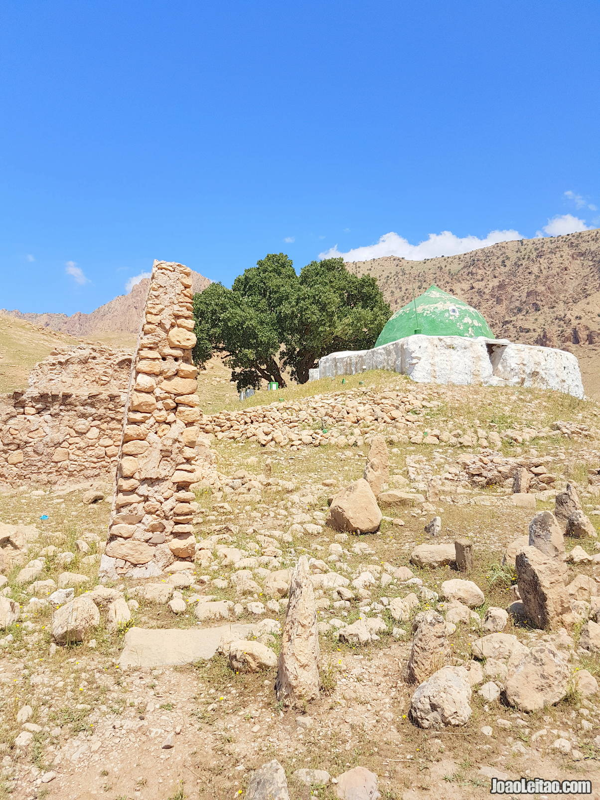Visit the tomb of Sheikh Jibril in Iraqi Kurdistan