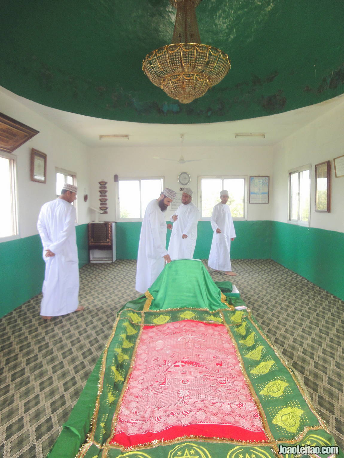 Visit the Tomb of Job in Oman