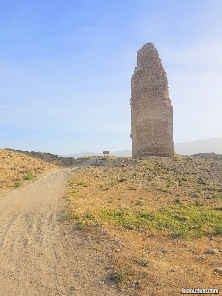 Minar Sassanid Tower in Firuzabad