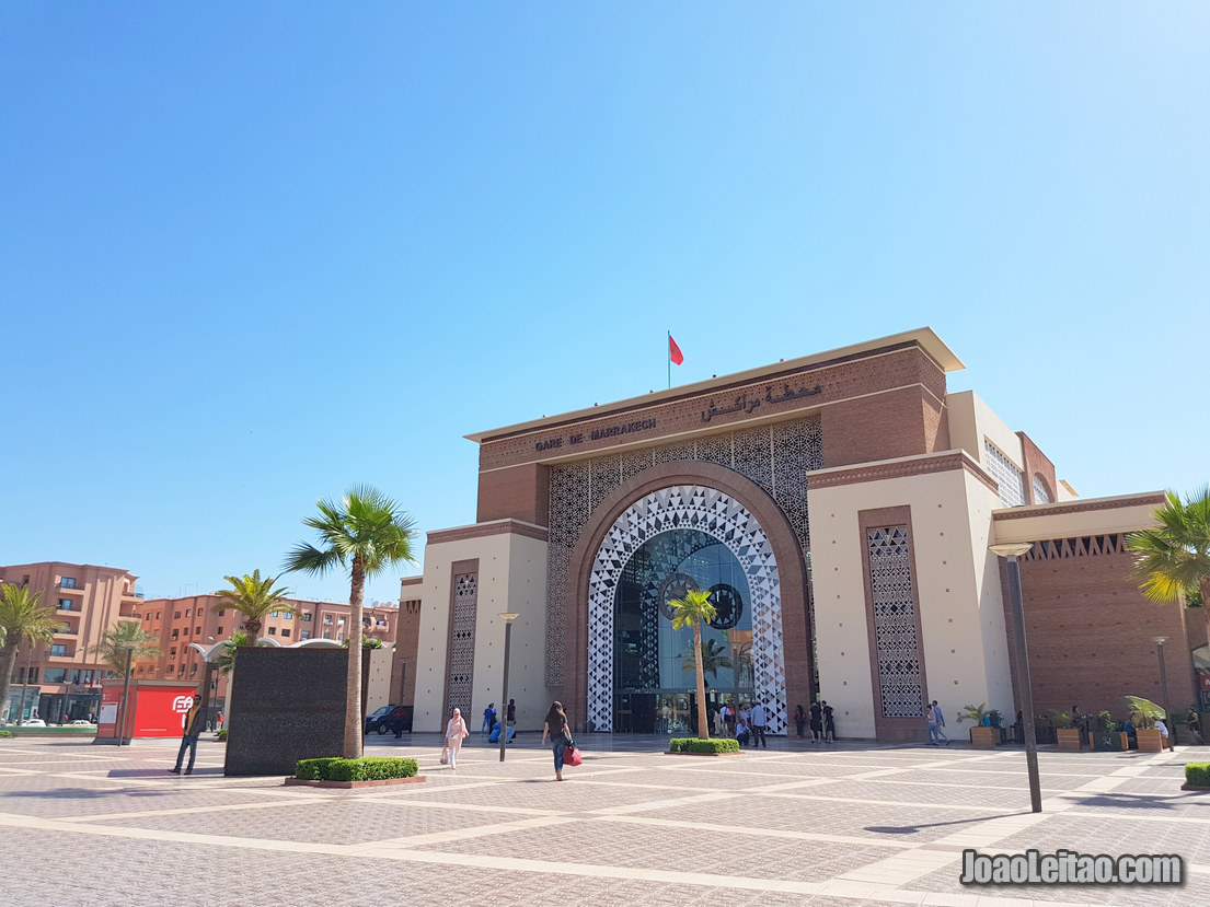 Arrive to Marrakesh by train