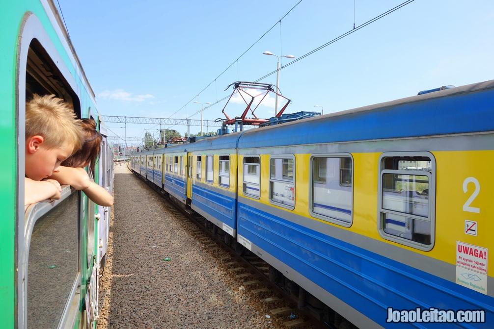 Travel by train around the world