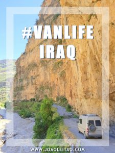 One month road trip in Iraq with a 4X4 Camper Van