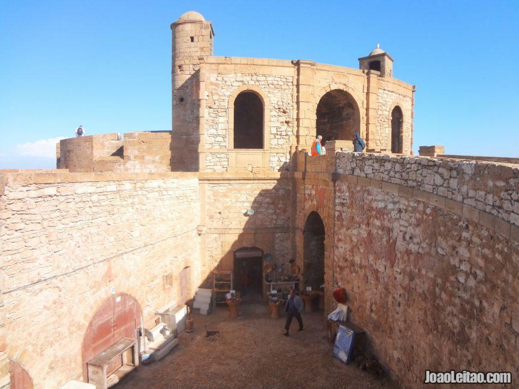 Visit Essaouira medina ramparts