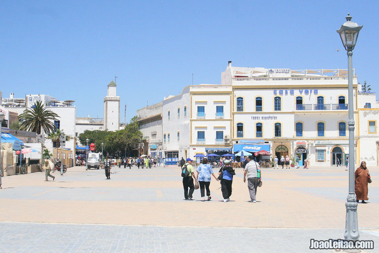Visit Place Moulay Hassan in Essaouira