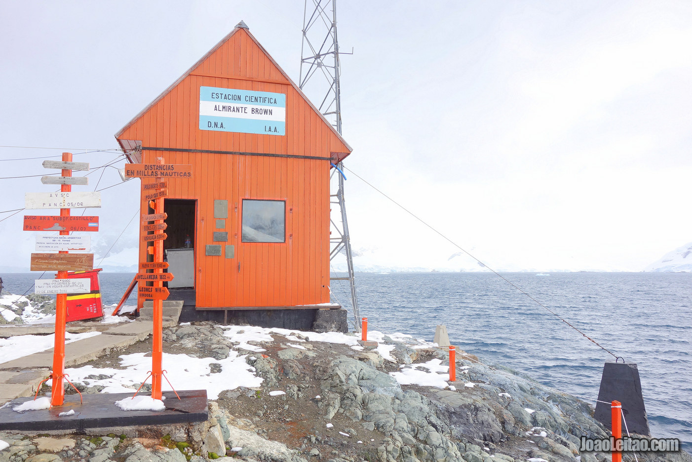 Visit a Scientific Station in Antarctica
