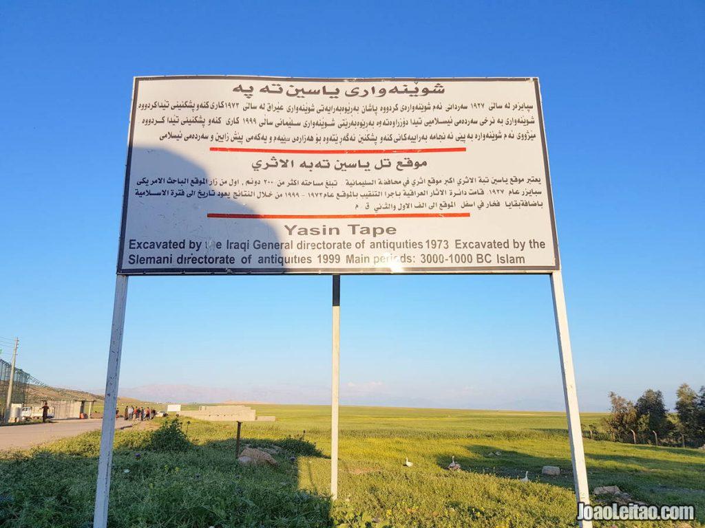 Yasin Tepe in Iraqi Kurdistan