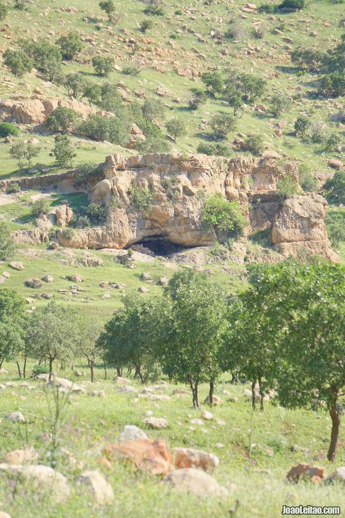 Visit Zarzi Cave in Iraqi Kurdistan
