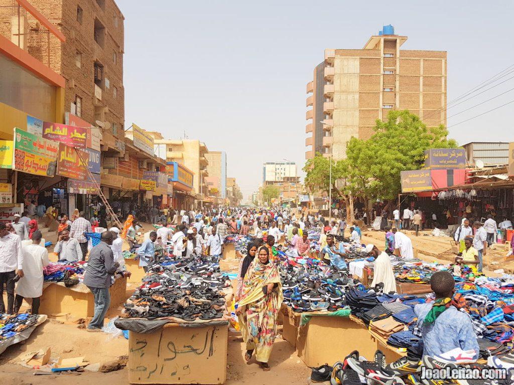 Arabi Souk in Khartoum