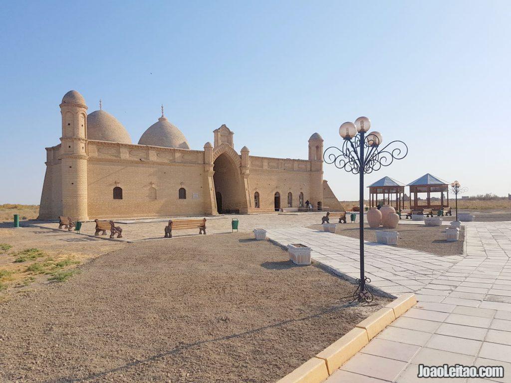 Arystan Bab Mausoleum Kazakhstan