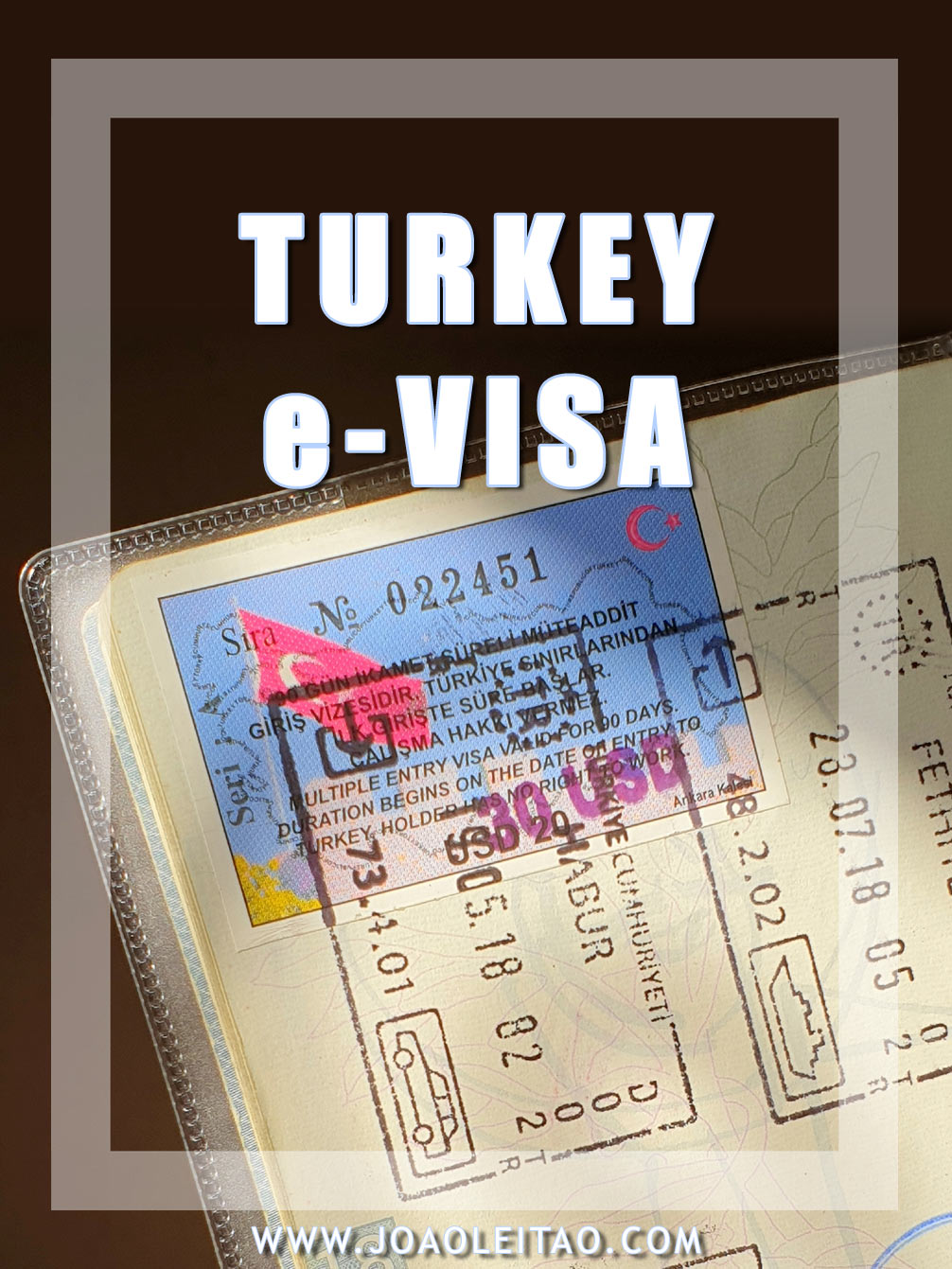 HOW TO MAKE TURKEY E-VISA