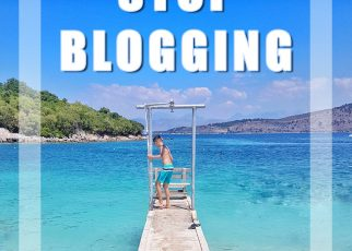 WHY TO STOP BLOGGING