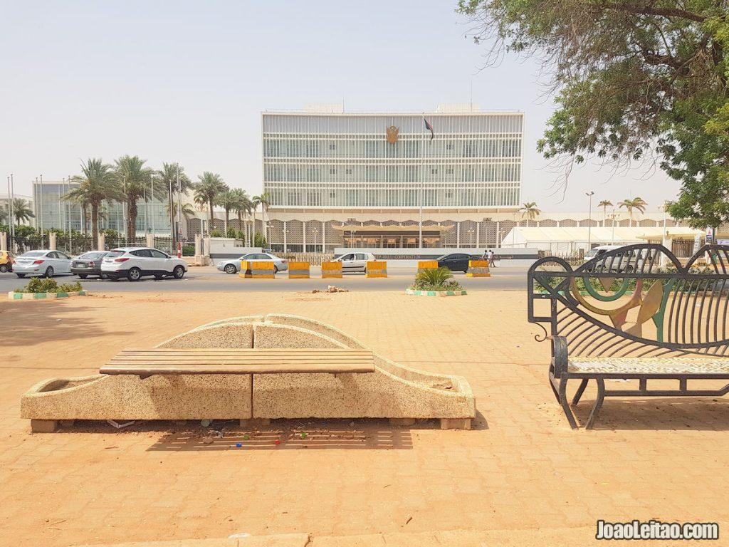 Nile Street in Khartoum