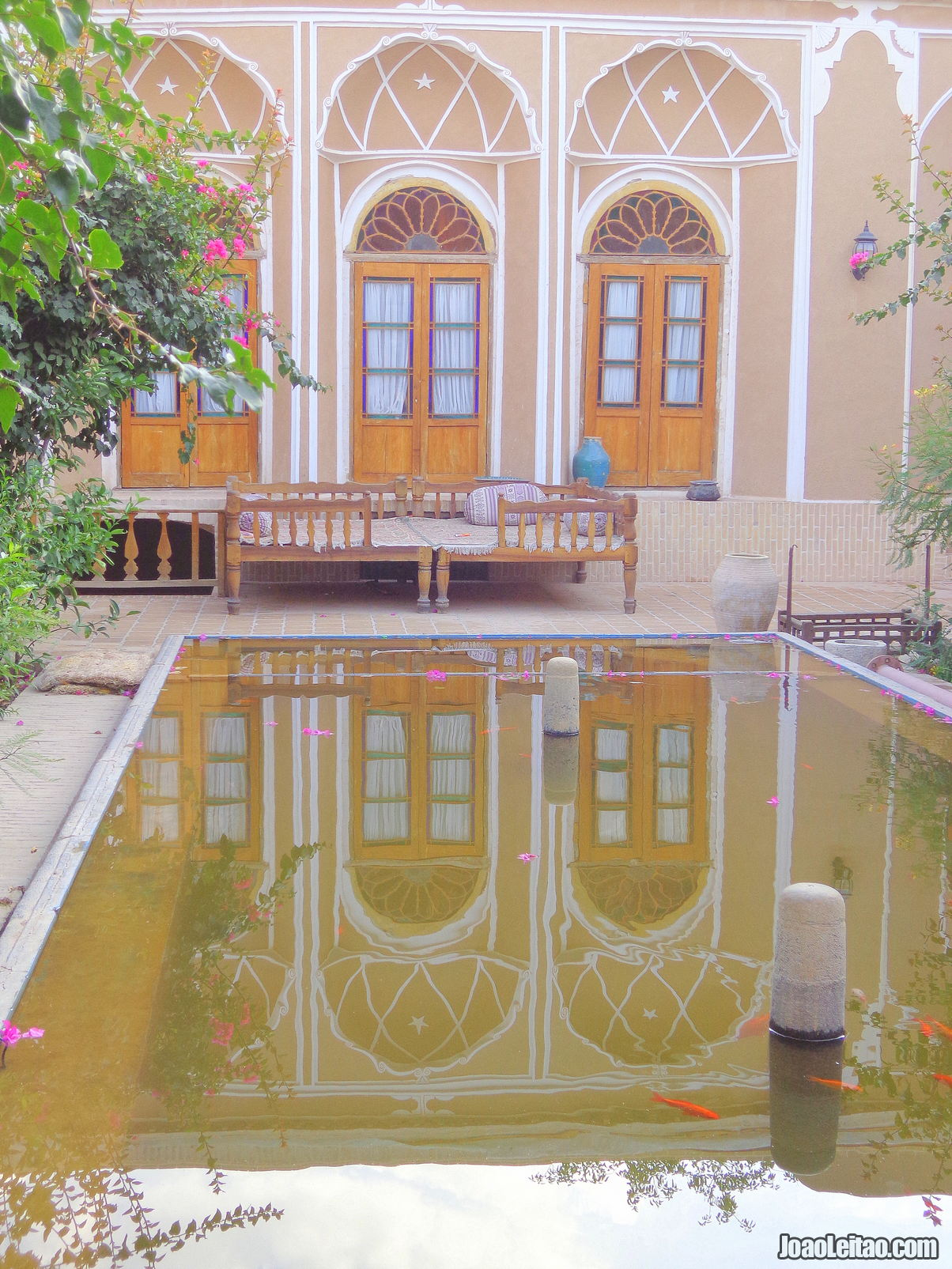 Traditional House in Yazd Iran