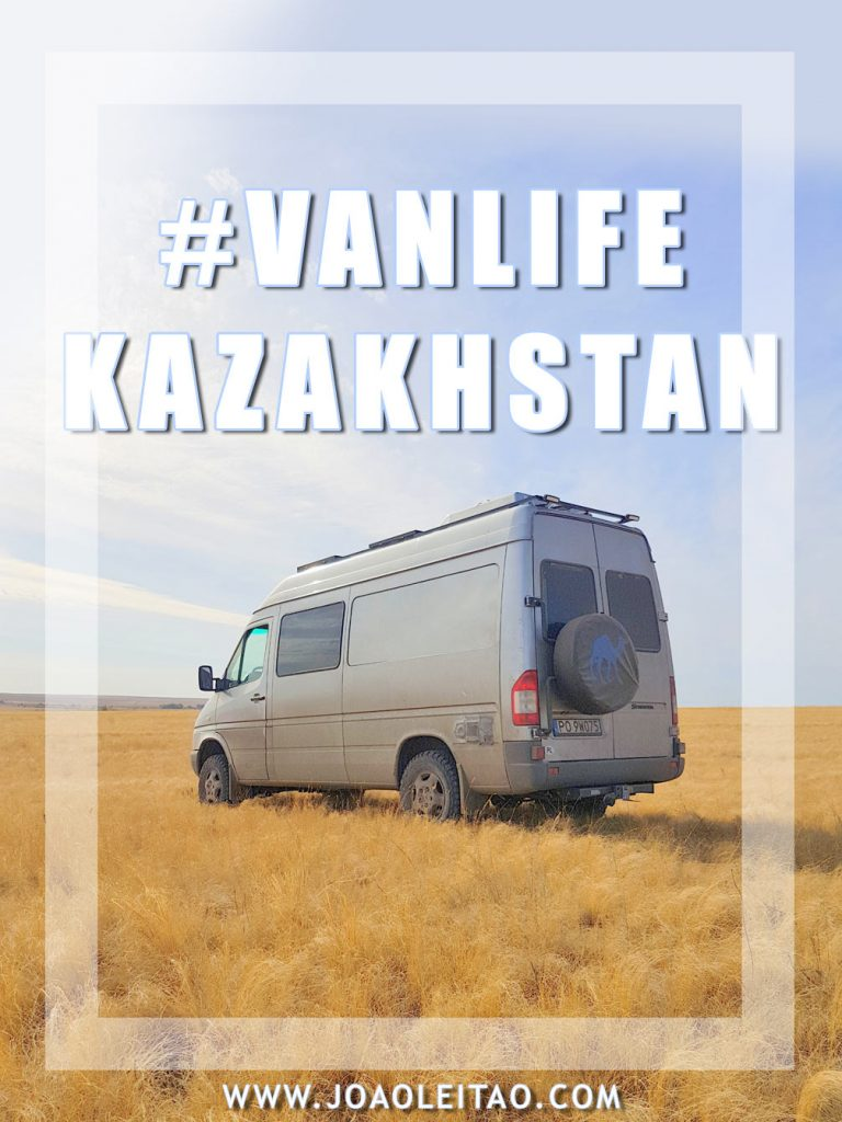 वैन लाइफ कजाखस्तान: 2-वीक कैंपर वैन रोड ट्रिप »2960 किमी