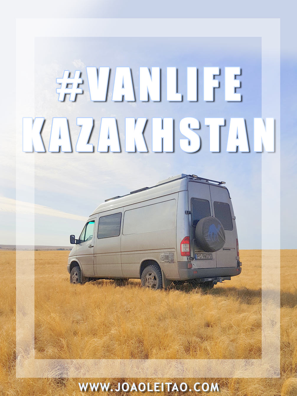 One month road trip in Kazakhstan with a 4X4 Camper Van
